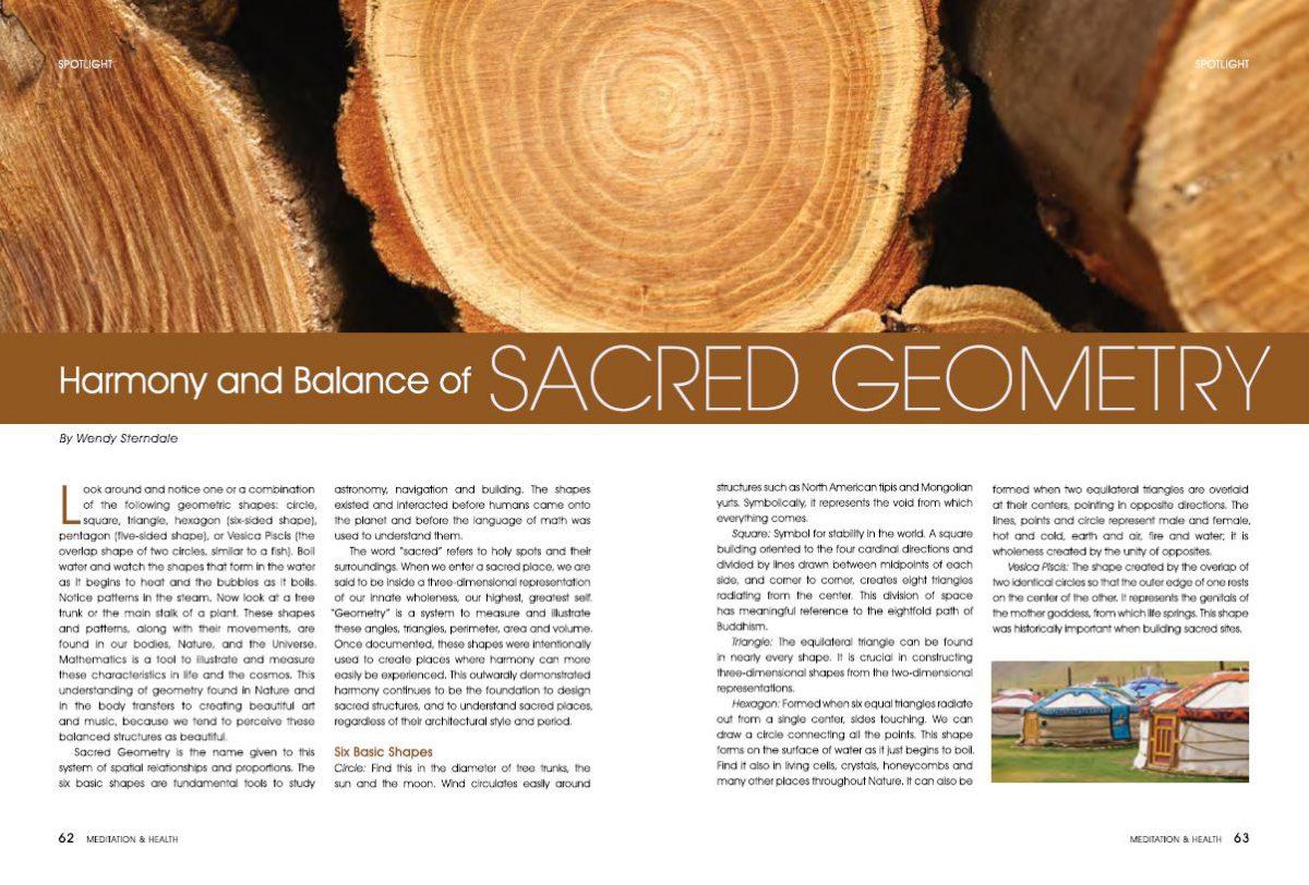 #12-Harmony and Balance of SACRED GEOMETRY
