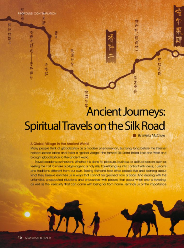 #13-Ancient Journeys: Spiritual Travels on the Silk Road