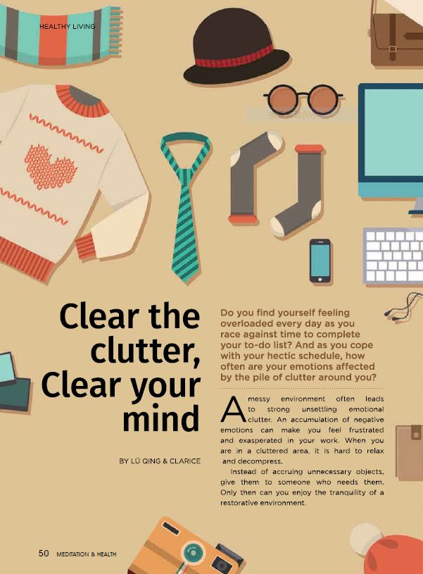 #15-Clear the Clutter, Clear Your Mind