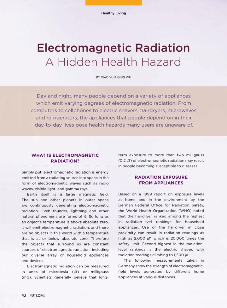 #17-Electromagnetic Radiation:A Hidden Health Hazards