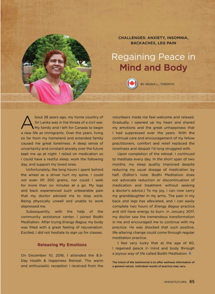 #20-Regaining Peace in Mind and Body