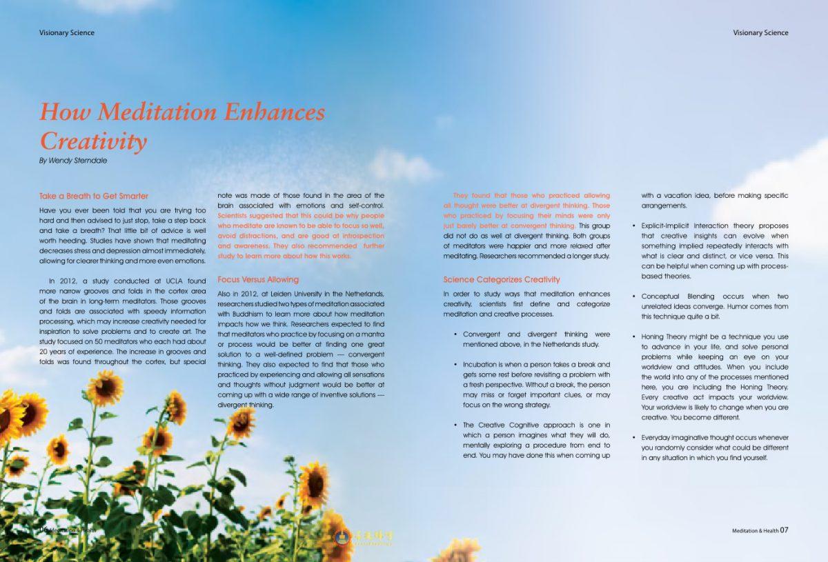 #8-How Meditation Enhances Creativity