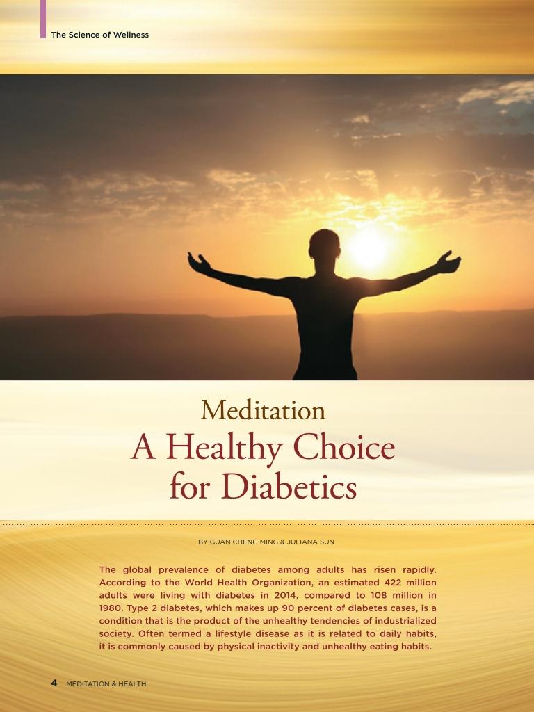 #23 – Meditation: A Healthy Choice for Diabetics