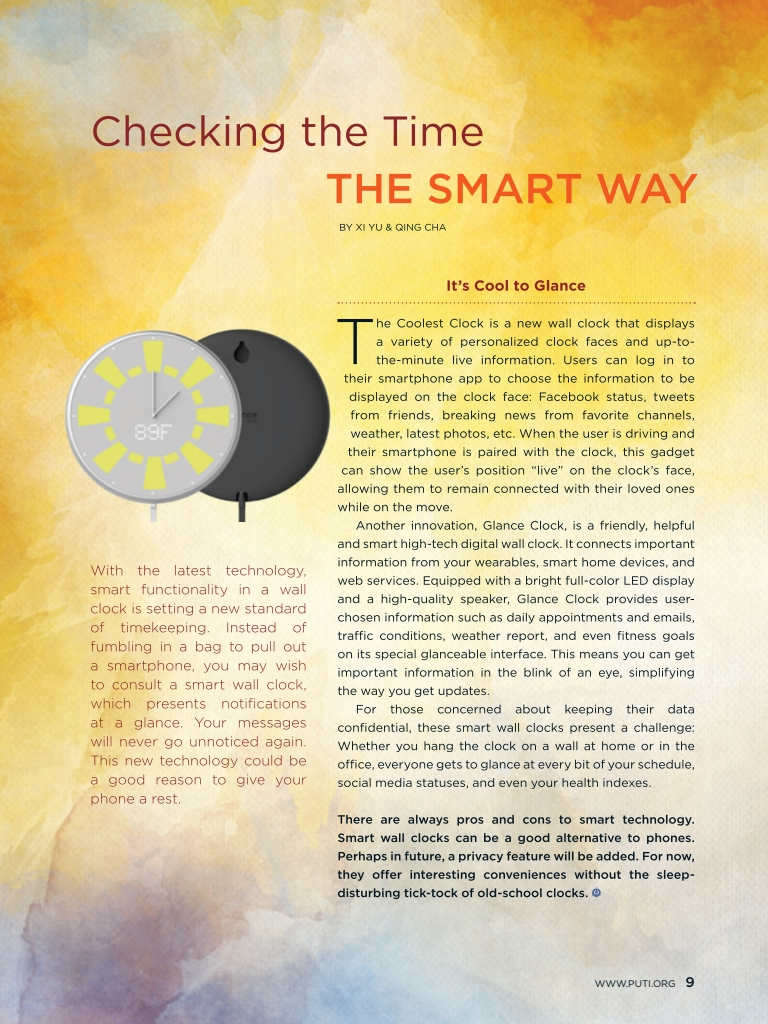 #23 – Checking the Time the Smart Way