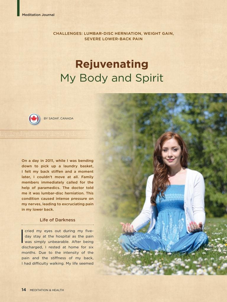 #23 – Rejuvenating My Body and Spirit