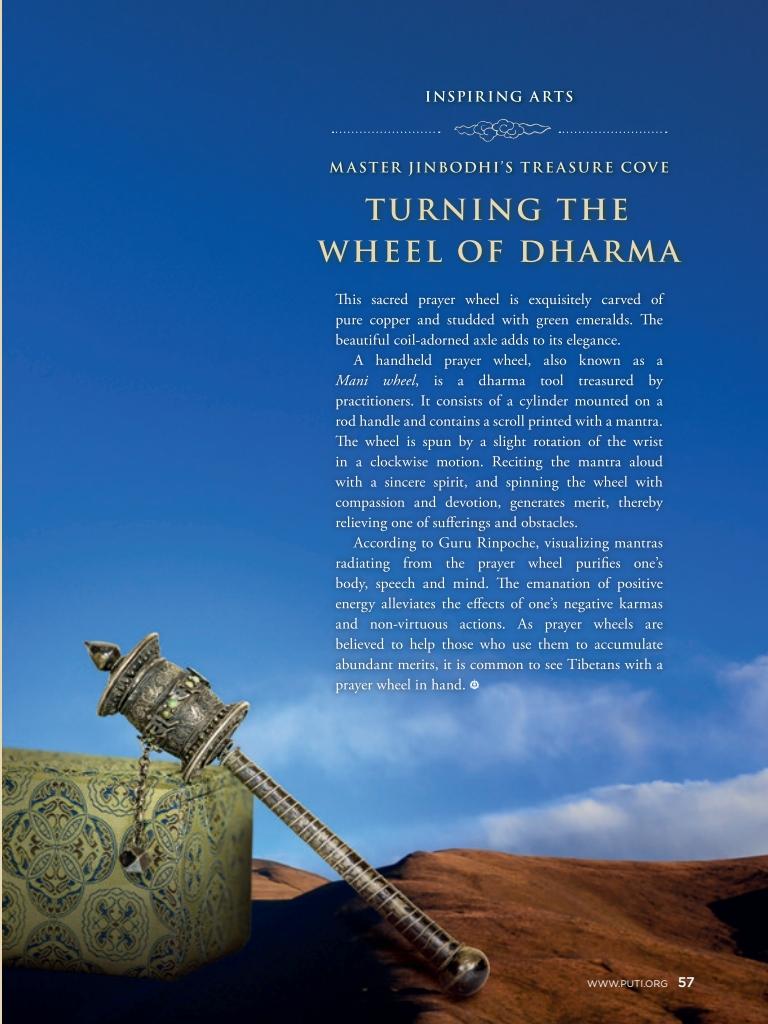#24 –  Turning the Wheel of Dharma