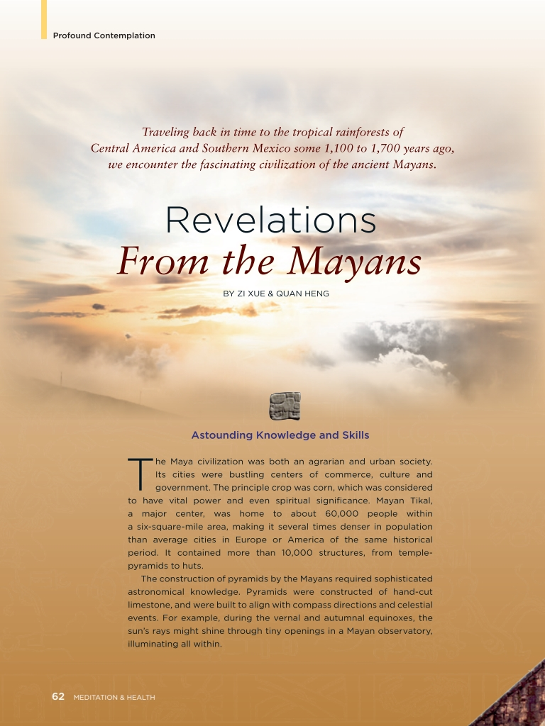 #24 – Revelations From the Mayans