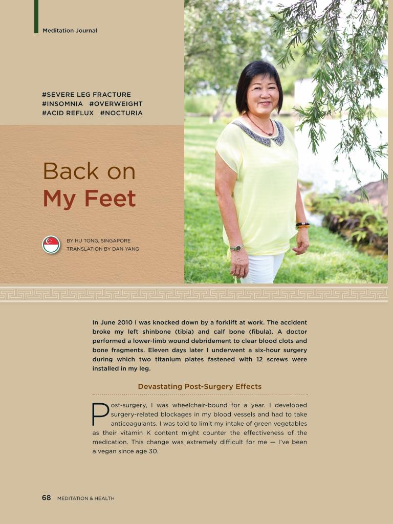 #25 – Back on My Feet