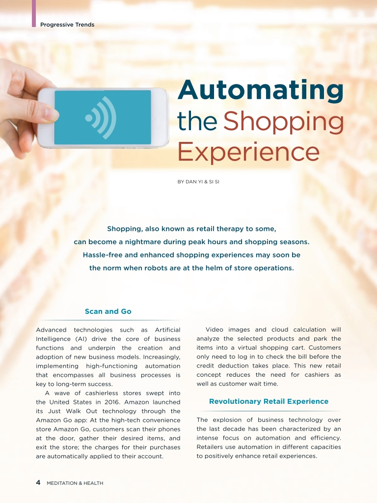 #26 –  Automating the Shopping Experience