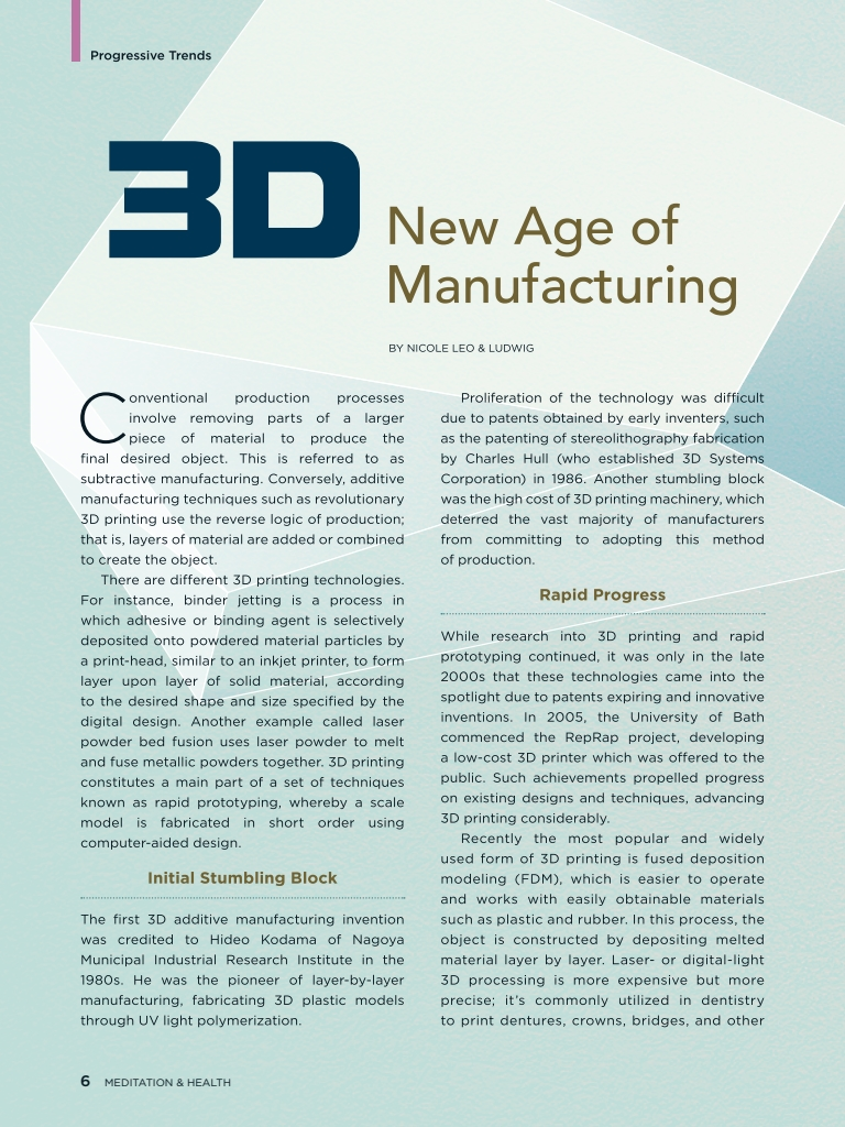 #26 – 3D New Age of Manufacturing