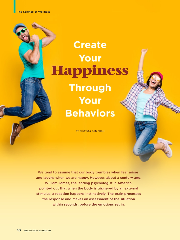 #26 – Create Your Happiness Through Your Behaviors