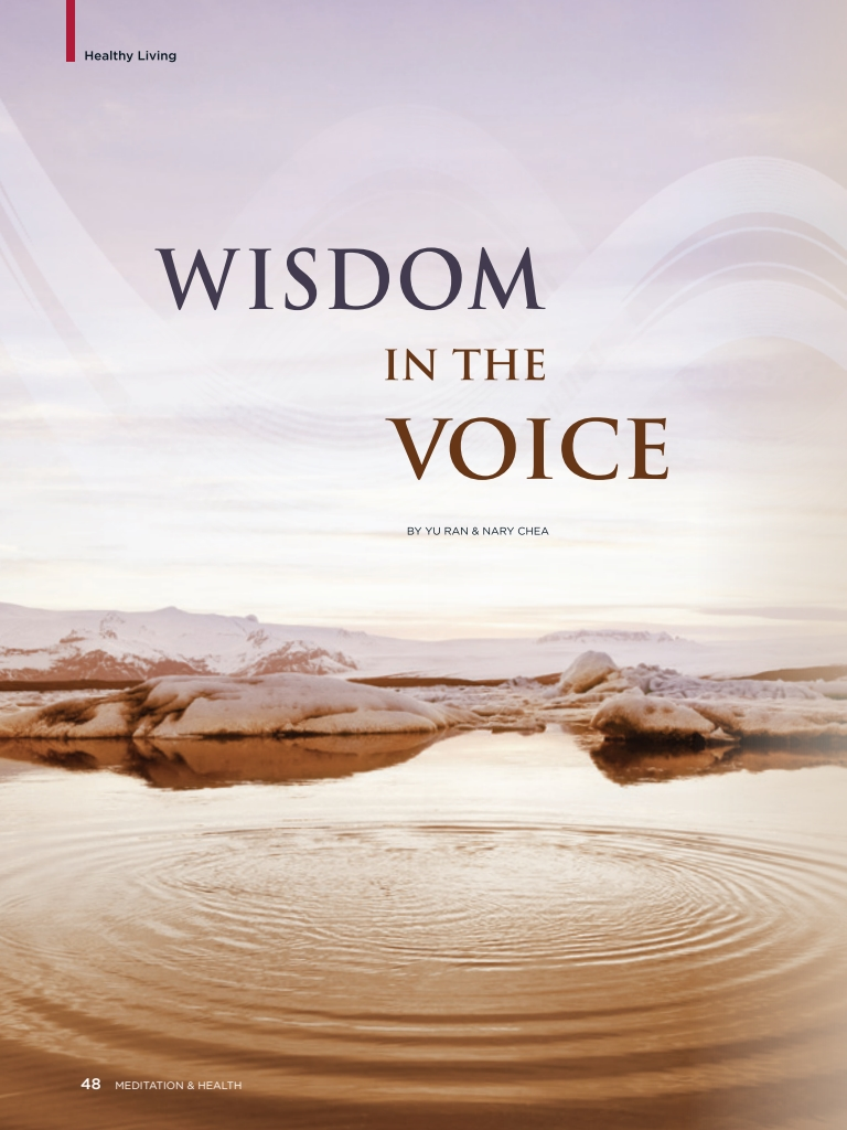 #26 – Wisdom in the Voice