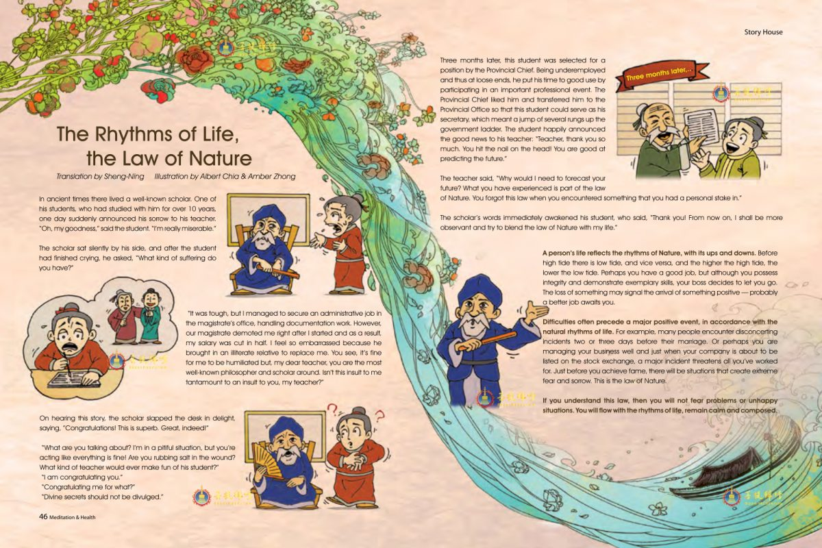 #7 – The Rhythms of Life, the Law of nature
